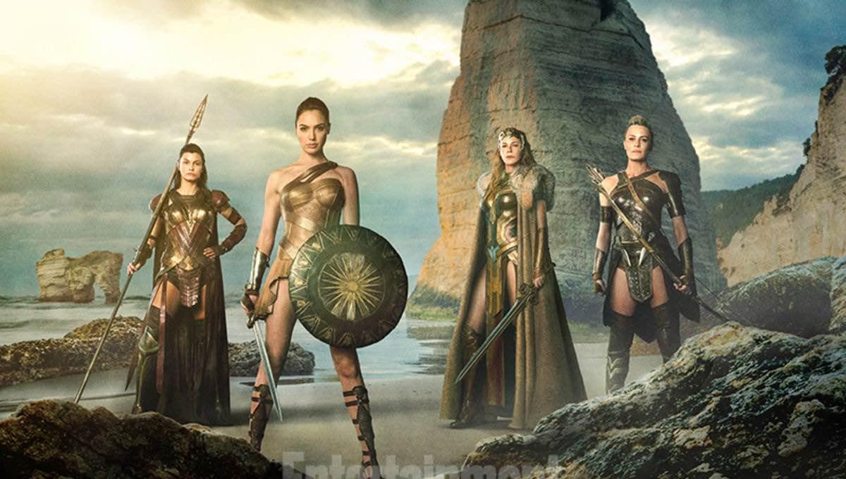 Wonder Woman se define como hija de Hipolita la Reina de las Amazonas