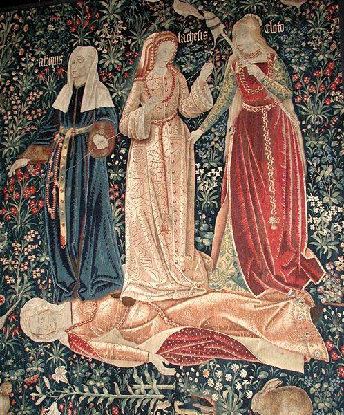 Las tres moiras o el trinfo de la muerte.