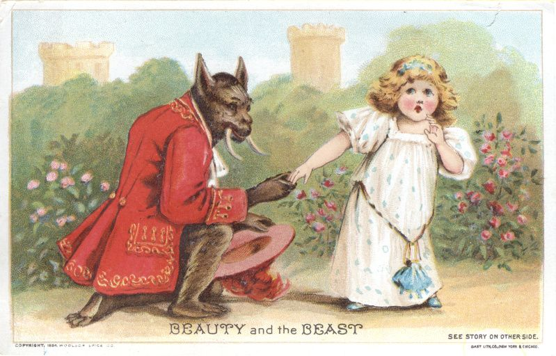 Ilustración realizada para colección de cuentos clásicos.