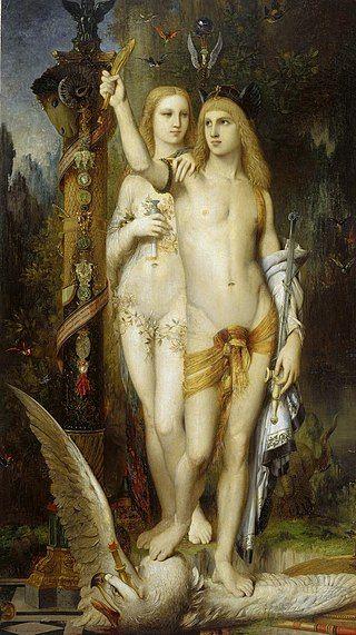 Jasó y Medea pintura de Gustave Moreau