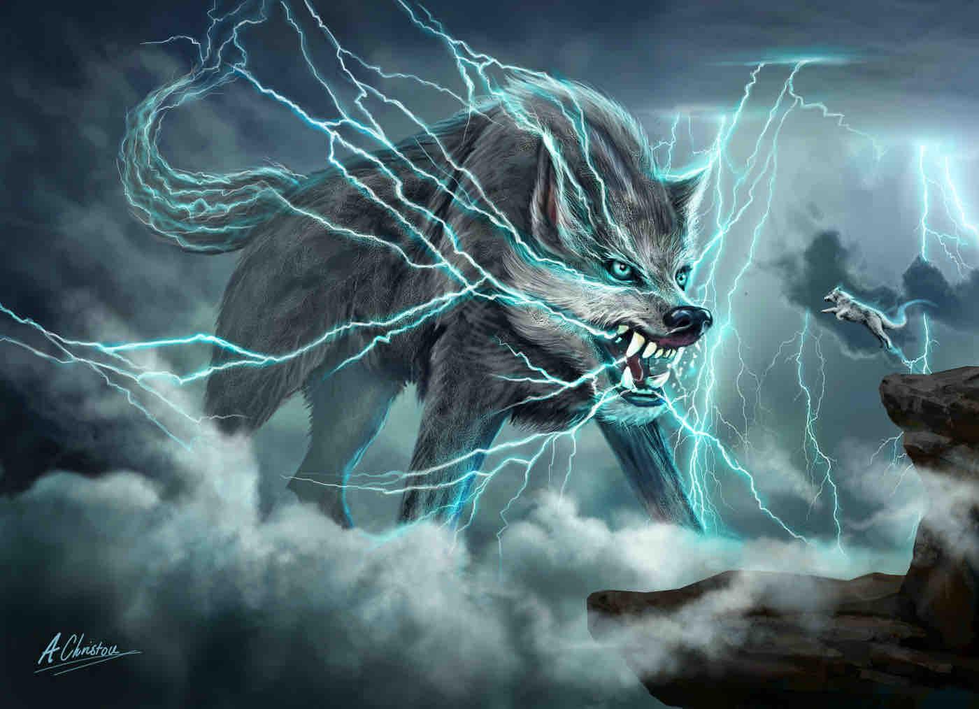 Raiju La Bestia Del Rayo De La Mitologia Japonesa También es verdad que los mitos y las historias del japón no se hallan tan bien conectados y sistematizados entre los. raiju la bestia del rayo de la