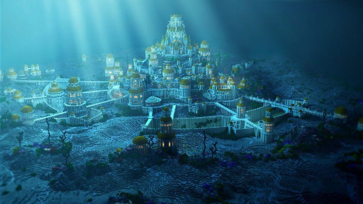 Cansado de los atlantes, Zeus, decidió poner fin a la ciudad y la enterro en las profundidades del mar.
