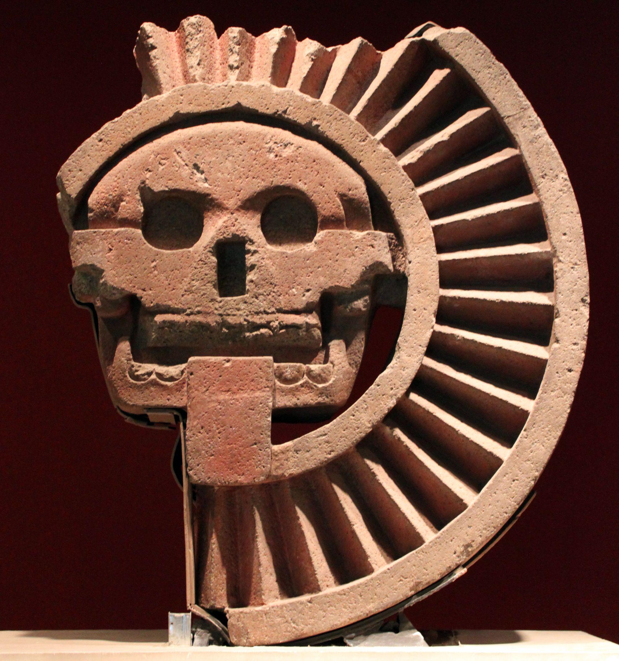 Las deidades del inframundo azteca son Mictlantecuhtli el señor del inframundo y Mictlantecacíhuatl, su esposa.