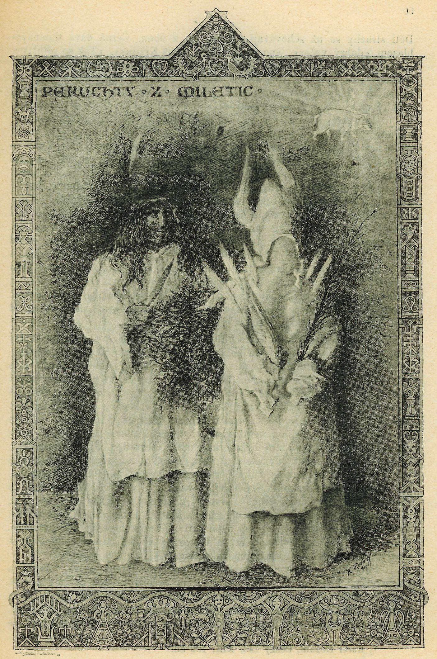 Disfraces tradicionales usados durante la celebración de las 12 noches.
