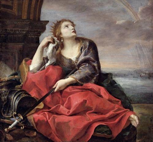 La muerte de Dido de Andrea Sacchi