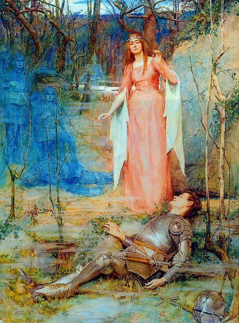 La banshee pintura de Henry Meynell Rheam.