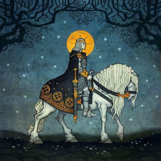 Los sueños son a menudo usados en la mitología universal como señales o advertencias acerca de eventos cercanos. En la imagen representación de Balder segun Johan Egerkrans.
